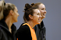 01.09.2017   Bailey Mes during the Silver Ferns training session ahead of the Quad Series at the ILT Stadium Southland in Invercargill. Mandatory Photo Credit ©Copyright photo: Dianne Manson/Michael Bradley Photography