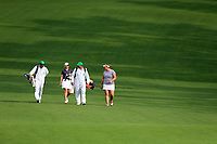 Maja Stark (SWE) and Alice Hewson (ENG) during the final  round at the Augusta National Womans Amateur 2019, Augusta National, Augusta, Georgia, USA. 06/04/2019.<br /> Picture Fran Caffrey / Golffile.ie<br /> <br /> All photo usage must carry mandatory copyright credit (© Golffile | Fran Caffrey)