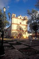 Templo de San Francisco chirch in San Cristobal de Las Casas, Chiapas, Mexico
