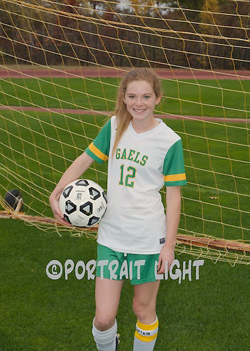 CHS senior captain Rachel McGown.