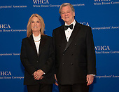 Greta Van Susteren and her husband, John P. Coale, arrive for the 2019 White House Correspondents Association Annual Dinner at the Washington Hilton Hotel on Saturday, April 27, 2019.<br /> Credit: Ron Sachs / CNP<br /> <br /> (RESTRICTION: NO New York or New Jersey Newspapers or newspapers within a 75 mile radius of New York City)