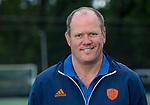 UTRECHT - assitent coach GRAHAM REID , Nederlands Team heren op weg naar HWL Londen . COPYRIGHT KOEN SUYK