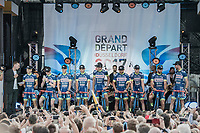team Wanty-Groupe Gobert<br /> <br /> &quot;Le Grand D&eacute;part&quot; <br /> 104th Tour de France 2017 <br /> Team Presentation in D&uuml;sseldorf/Germany