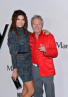 """LOS ANGELES, USA. November 06, 2019: Blanca Blanco & John Savage at the premiere for """"Marriage Story"""" at the DGA Theatre.<br /> Picture: Paul Smith/Featureflash"""