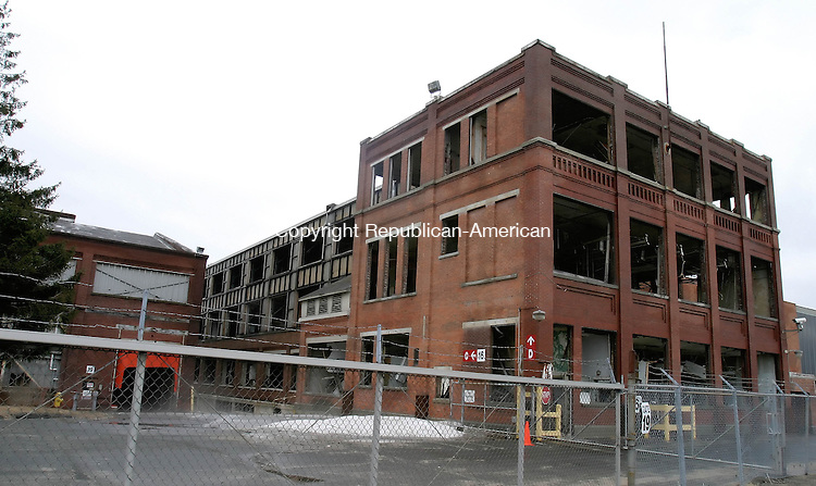 PITTSFIELD, MA-01 APRIL 2008 --040108JS01--One of the former General Electric buildings still standing in Pittsfield, Mass. <br /> Jim Shannon / Republican-American