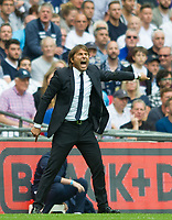 Chelsea's manager Antonio Conte during the Premier League match between Tottenham Hotspur and Chelsea at Wembley Stadium, London, England on 20 August 2017. Photo by Andrew Aleksiejczuk / PRiME Media Images.