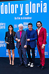 Penelope Cruz, Pedro Almodovar, Antonio Banderas and Asier Etxeandía attend the photocall of the movie 'Dolor y gloria' in Villa Magna Hotel, Madrid 12th March 2019. (ALTERPHOTOS/Alconada)