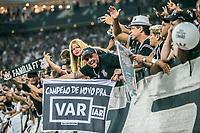 SÃO PAULO, SP, 21.04.2019 – CORINTHIANS- SÃO PAULO – Torcida do Corinthians durante partida contra o São Paulo, valido pela final do Campeonato Paulista 2019, disputada na Arena Corinthians em São Paulo, na tarde deste domingo, 21. (Foto: Danilo Fernandes/Brazil Photo Press)