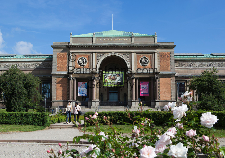 Denmark, Zealand, Copenhagen: Statens Museum for Kunst, Denmark's national art gallery   Daenemark, Insel Seeland, Kopenhagen: Statens Museum for Kunst, Daenemarks nationale Kunstgalerie