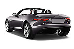 Car pictures of rear three quarter view of 2017 Jaguar F-TYPE S-Convertible 2 Door Convertible Angular Rear