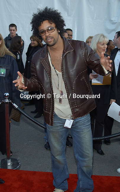 Shaggy arrives at the 30th Annual AMAs held at the Shrine Auditorium in Los Angeles, CA, January 13, 2003.            -            Shaggy01A.jpg