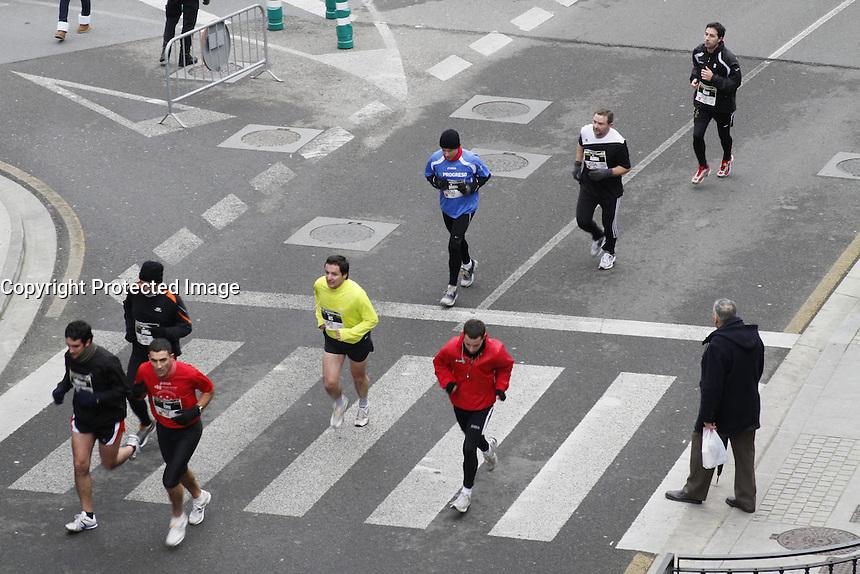 competición maraton en Lugo