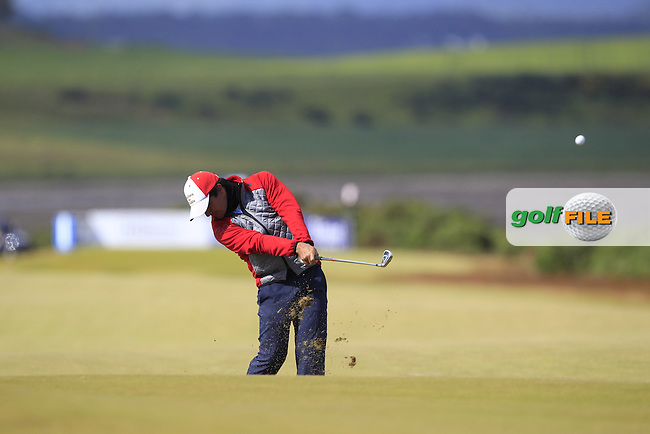 Felipe Aguilar (CHI) during the first round of the Aberdeen Asset Management Scottish Open 2016, Castle Stuart  Golf links, Inverness, Scotland. 07/07/2016.<br /> Picture Fran Caffrey / Golffile.ie<br /> <br /> All photo usage must carry mandatory copyright credit (&copy; Golffile | Fran Caffrey)