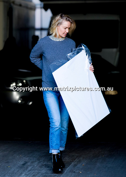 7 MAY 2017 SYDNEY AUSTRALIA<br /> WWW.MATRIXPICTURES.COM.AU<br /> <br /> EXCLUSIVE PICTURES<br /> <br /> Lara Worthington pictured arriving at a studio in Alexandria.<br /> <br /> Note: All editorial images subject to the following: For editorial use only. Additional clearance required for commercial, wireless, internet or promotional use.Images may not be altered or modified. Matrix Media Group makes no representations or warranties regarding names, trademarks or logos appearing in the images.
