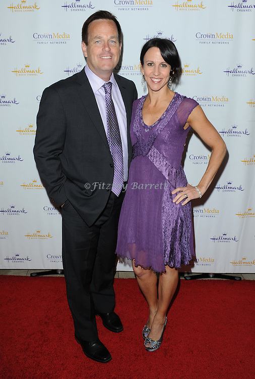 Michael Sephn and Gina Spehn arriving at Hallmark Movie Channel Presents 'The Color Of Rain' held at the Paley Center For Media Beverly Hills, CA. May 28, 2014.