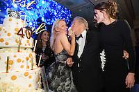 Pamela Anderson &amp; Massimo Gargia &amp; Lola Karimova-Tillyyaeva : &quot; The Best &quot; 40th Edition &agrave; l'h&ocirc;tel George V.<br /> France, Paris, 27 janvier 2017.<br /> ' The Best ' 40th Edition at the George V hotel in Pais.<br /> France, Paris, 27 January 2017