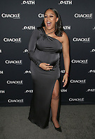 07 March 2018 - Culver City, California - Tia Mowry. &quot;The Oath&quot; TV Series Los Angeles Premiere held at Sony Pictures Studios.   <br /> CAP/ADM/FS<br /> &copy;FS/ADM/Capital Pictures