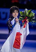 24th March 2018, Mediolanum Forum, Milan, Italy;  Shoma Uno (JPN) during the ISU World Figure Skating Championships, Men Final at Mediolanum Forum in Milan, Italy