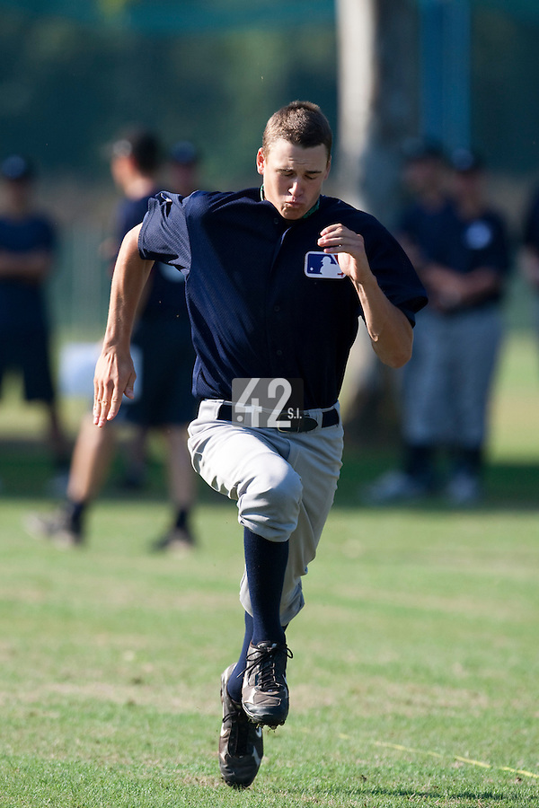 Baseball - MLB Academy - Tirrenia (Italy) - 19/08/2009 - Mourik Huijser (Netherlands)