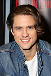 """Aaron Tveit during the """"Moulin Rouge! The Musical"""" - Vinyl Release signing at Sony Square on December 13, 2019 in New York City."""