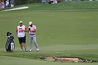 Adrian Otaegui (ESP) on the 18th fairway during the 3rd round of the DP World Tour Championship, Jumeirah Golf Estates, Dubai, United Arab Emirates. 17/11/2018<br /> Picture: Golffile | Fran Caffrey<br /> <br /> <br /> All photo usage must carry mandatory copyright credit (© Golffile | Fran Caffrey)