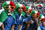17 June 2006: Unidentified Italy fans. Italy tied the United States 1-1 at Fritz-Walter Stadion in Kaiserslautern, Germany in match 25, a Group E first round game, of the 2006 FIFA World Cup.