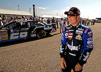 Oct 4, 2008; Talladega, AL, USA; NASCAR Sprint Cup Series driver Jamie McMurray during qualifying for the Amp Energy 500 at the Talladega Superspeedway. Mandatory Credit: Mark J. Rebilas-