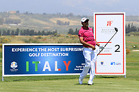 Oscar Serna (MEX) during the first round of the Rocco Forte Sicilian Open played at Verdura Resort, Agrigento, Sicily, Italy 10/05/2018.<br /> Picture: Golffile | Phil Inglis<br /> <br /> <br /> All photo usage must carry mandatory copyright credit (&copy; Golffile | Phil Inglis)
