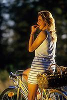 Europe/France/Limousin/87/Haute Vienne: Randonnée à bicyclette dans le Parc Naturel Régional de Millevaches en Limousin