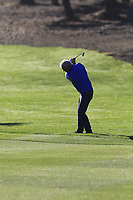 Gerry McIlroy (NIR) plays his 2nd shot on the 1st hole during Thursday's Round 1 of the 2018 AT&amp;T Pebble Beach Pro-Am, held over 3 courses Pebble Beach, Spyglass Hill and Monterey, California, USA. 8th February 2018.<br /> Picture: Eoin Clarke | Golffile<br /> <br /> <br /> All photos usage must carry mandatory copyright credit (&copy; Golffile | Eoin Clarke)
