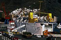 Fred Olsen ferry in Santa Cruz,Tenerife, Canary Islands, Spain