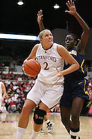STANFORD, CA - JANUARY 2:  Jayne Appel of the Stanford Cardinal during Stanford's 79-58 win over the California Golden Bears on January 2, 2010 at Maples Pavilion in Stanford, California.