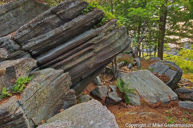 Rocks<br />Killbear Provincial Park<br />Ontario<br />Canada