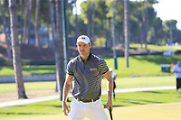 Martin Kaymer (GER) putts on the 3rd green during Saturday's Round 3 of the 2018 Turkish Airlines Open hosted by Regnum Carya Golf &amp; Spa Resort, Antalya, Turkey. 3rd November 2018.<br /> Picture: Eoin Clarke | Golffile<br /> <br /> <br /> All photos usage must carry mandatory copyright credit (&copy; Golffile | Eoin Clarke)