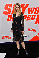 Ginny Gardner at the world premiere for &quot;The Spy Who Dumped Me&quot; at the Fox Village Theatre, Los Angeles, USA 25 July 2018<br /> Picture: Paul Smith/Featureflash/SilverHub 0208 004 5359 sales@silverhubmedia.com