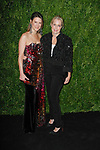 Lizzie Tisch (left) and Ali Wentworth arrive at the MoMa Film Benefit Tribute to Julianna Moore presented by Chanel, at the Musuem of Modern Art in New York City, on November 13, 2017.