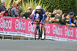 Pierre Latour (FRA) in action during the Men Elite Individual Time Trial of the UCI World Championships 2019 running 54km from Northallerton to Harrogate, England. 25th September 2019.<br /> Picture: Eoin Clarke | Cyclefile<br /> <br /> All photos usage must carry mandatory copyright credit (© Cyclefile | Eoin Clarke)