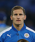 Leicester's Marc Albrighton during the Champions League group B match at the King Power Stadium, Leicester. Picture date November 22nd, 2016 Pic David Klein/Sportimage