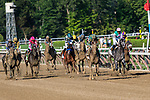 # 2 Code of Honor wins the Runhappy Travers S. (Gr 1) ridden by John Velasquez  Aug. 24, 2019 :during racing at Saratoga Race Course in Saratoga Springs, New York. Robert Simmons/Eclipse Sportswire/CSM