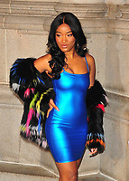 NEW YOKR, NY - NOVEMBER 7: Keke Palmer at The Elton John AIDS Foundation's Annual Fall Gala at the Cathedral of St. John the Divine on November 7, 2017 in New York City. <br /> CAP/MPI/JP<br /> &copy;JP/MPI/Capital Pictures