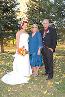 Rebecca and Brian Buck's wedding ceremony at Pippo's Ranch in Vacaville.