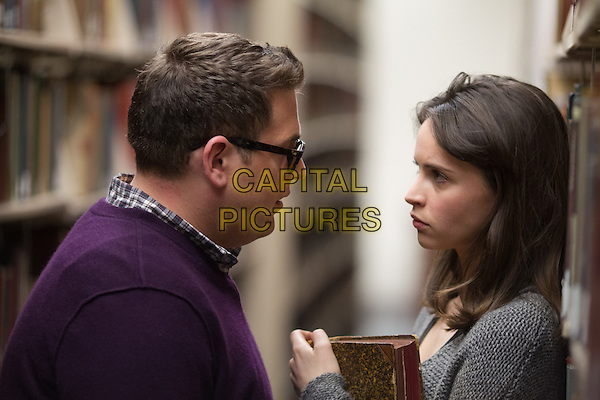 Jonah Hill and Felicity Jones <br /> in True Story (2015)  <br /> *Filmstill - Editorial Use Only*<br /> CAP/NFS<br /> Image supplied by Capital Pictures