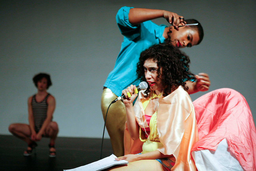 Niv Acosta with Larissa Velez-Jackson | The Center For Performance Research | Brooklyn, NY | 2011