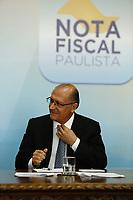 SÃO PAULO, SP, 09.03.2017 - GOVERNO-SP - O Governador Geraldo Alckmin durante lançamento do novo aplicativo da Nota Fiscal Paulista, no Palácio dos Bandeirantes, na manhã desta quinta-feira, 09.(Foto: Adriana Spaca/Brazil Photo Press)