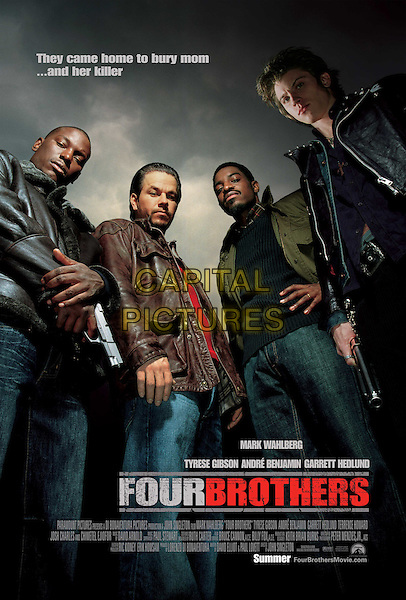 POSTER ART.in Four Brothers.Filmstill - Editorial Use Only.CAP/AWFF.supplied by Capital Pictures.