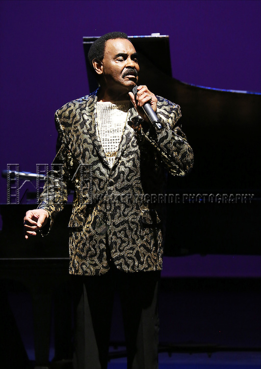 Chuck Jackson performs at Woodie King Jr.'s New Federal Theatre 44th Anniversary Gala honoring Voza Rivers at BMCC Tribeca Performing Arts Center on March 16, 2014 in New York City.