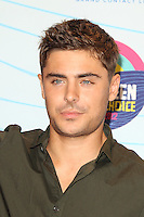 UNIVERSAL CITY, CA - JULY 22: Zac Efron in the press room at the 2012 Teen Choice Awards at Gibson Amphitheatre on July 22, 2012 in Universal City, California. &copy; mpi28/MediaPunch Inc. /NortePhoto.com*<br />