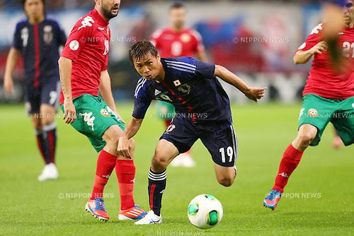 Takashi Inui (JPN), <br /> May 30, 2013 - Football / Soccer : <br /> KIRIN Challenge Cup 2013 <br /> match between Japan 0-2 Bulgaria <br /> at TOYOTA Stadium, Aichi, Japan. <br /> (Photo by Daiju Kitamura/AFLO SPORT)