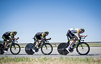 TTT training for Team Mitchelton-Scott preparing for the 2019 Tour de France 'Grand Départ'  in Brussels<br /> <br /> ©kramon