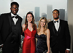 From left: Clint Capela, Illana Plotkin, Abby Moore and KJ McDaniels la at the Memorial Hermann Circle of Life Gala at the Hilton Americas Hotel Saturday April 11, 2015.(Dave Rossman photo)